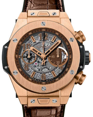 Fake Hublot Big Bang Unico 45 mm Big Bang Unico King Gold Boutique Exclusive 411.OX.3180.LR luxury watches